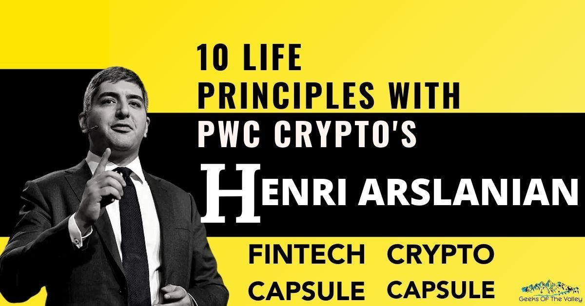 PWC Crypto's Henri Arslanian